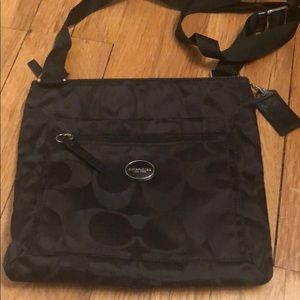 Coach nylon crossbody bag